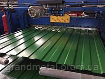 Профнастил зеленый РАЛ 6002 U.S.Steel, профнастил RAL 6002 зеленого цвета Словак 0,45мм