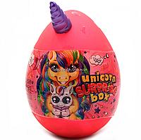 Игровой набор Данко Тойс «Unicorn Surprise Box» Яйцо единорога, розовое, русский язык, 30х20 см (USB-01-01)