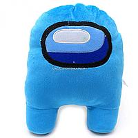 Мягкая игрушка «Космонавт Among Us» Амонг Ас, Голубой, 15х12х23 см (00006-02)