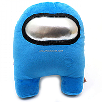 Мягкая игрушка «Космонавт Among Us» Амонг Ас, Голубой, 15х20х25 см (00006-04)