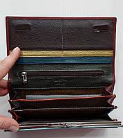 Женский кожаный кошелек Balisa 149-1013 бордовый Женские кожаные кошельки БАЛИСА оптом Одесса 7 км, фото 3