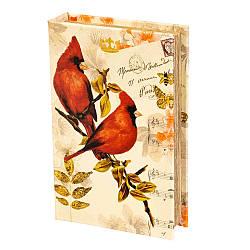 Книга-сейф Veronese Птицы 26х17х5 см 068UE