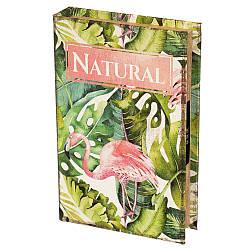 Книга-сейф Veronese Фламинго 26х17х5 см 0001-005