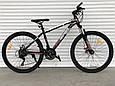 Спортивный горный велосипед Toprider 611 26 дюймов колеса Синий, фото 5