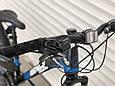 Спортивный горный велосипед Toprider 611 26 дюймов колеса Синий, фото 7