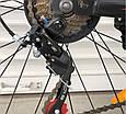 Спортивный горный велосипед Toprider 611 26 дюймов колеса Синий, фото 10