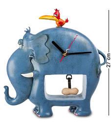 Часы настенные World of Stratford Слон и птичка 27 см 1903134
