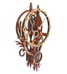 Часы настенные ручной работы Mad Clockmaker Воздушный шар 16041