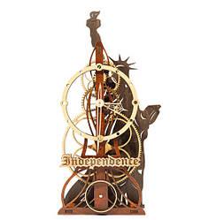 Часы настенные ручной работы Mad Clockmaker Независимость 16043