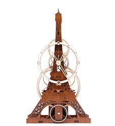 Часы настенные ручной работы Mad Clockmaker Эйфель 16044