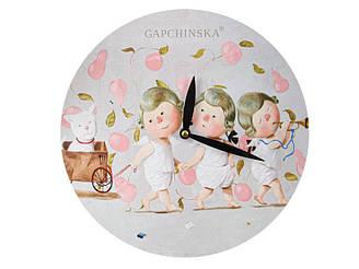 Часы настенные Gapchinska Мы везем с собой кота 29 см 924-668