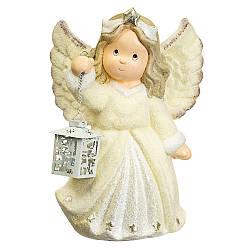 Статуэтка Lefard Ангел с фонариком 42х35х20 см 001NQ