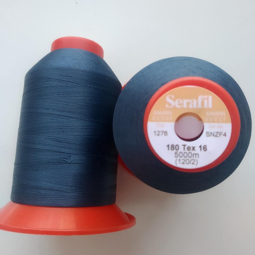 Нитка Serafil Amann 120/2 колір 1276