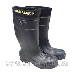 Захисні зимові робочі чоботи Worker (Lemigo)