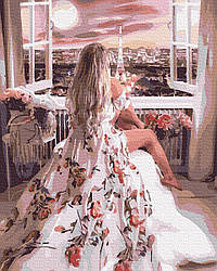 Картина по номерам Чудесное утро в Париже 50х40см