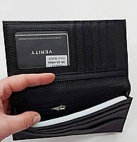 Мужское кожаное портмоне 23-04 black Кожаное портмоне БАЛИСА купить оптом Одесса 7 км, фото 3