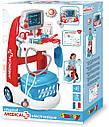 Набір доктора Smoby Візок медичний з інструментами електронна 340202, фото 6