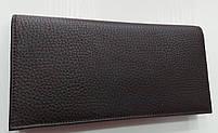 Мужское кожаное портмоне 22-04 brown Кожаное портмоне БАЛИСА купить оптом Одесса 7 км, фото 4
