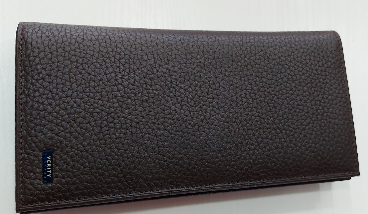 Мужское кожаное портмоне 22-04 brown Кожаное портмоне БАЛИСА купить оптом Одесса 7 км