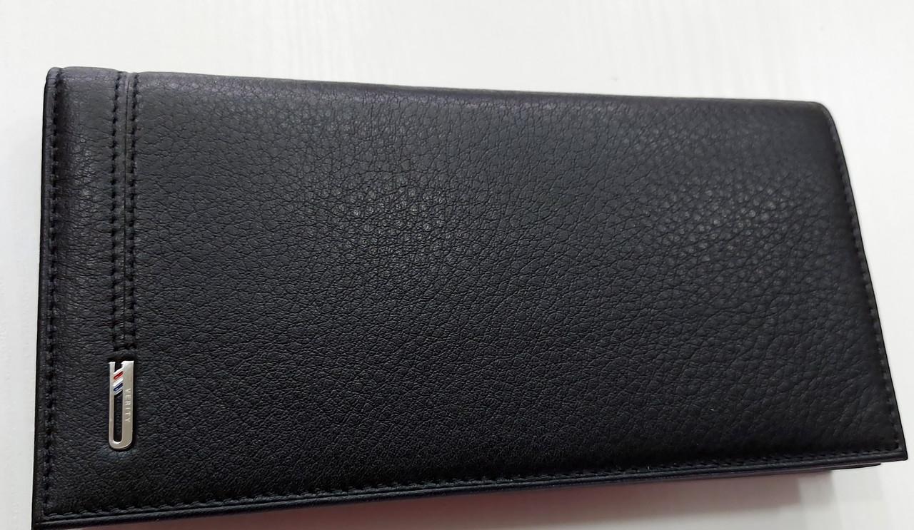 Мужское кожаное портмоне 11-04 black Кожаное портмоне БАЛИСА купить оптом Одесса 7 км