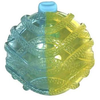 Игрушка для собак CROCI, MUTE&LOUD Мяч, резина  2х цвет, 8,5 см