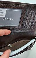 Мужское кожаное портмоне 11-04 brown Кожаное портмоне БАЛИСА купить оптом Одесса 7 км, фото 4