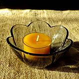 Набор для изготовления чайной свечи с содержанием воска 24г (контейнер чайной свечи, фиксатор фитиля, фитиль), фото 10