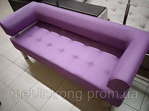 Диван для кафе, бара, ресторана Стронг (MebliSTRONG) - фиолетовый матовый цвет