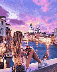 Картина по номерам Ночная Венеция 50х40см