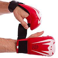 Перчатки-накладки для каратэ VENUM GIANT MA-5854 красный