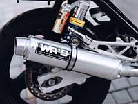 Прямоточный глушитель ( мото прямоток WR'S) WRS выхлоп, мотоцикл ВРС