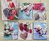 """Пакет подарунковий """"Квіти"""", 0514-1 12х15х6см уп12"""