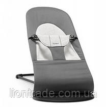 Кресло-качалка Baby Bjorn Balance Soft, темно-серый Джерси (5084)