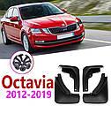 Брызговики MGC Skoda Octavia A7 (Шкода Октавия) 2013-2017 г.в. комплект 4 шт 5E0075111, 5E0075101, фото 5