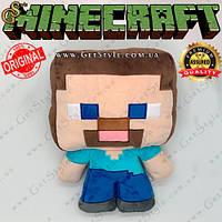 """Игрушка-подушка Стив из Minecraft - """"Steve Pillow"""" - 40 х 27 см"""