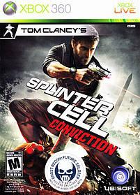 Игра для игровой консоли Xbox 360, Tom Clancy's Splinter Cell: Conviction (БУ, Лицензия)