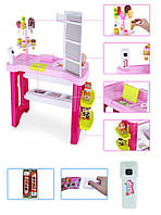 Детский игровой магазин сладостей с кассой на 40 предметов. Хороший подарок для девочки от 3 лет