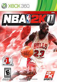 Игра для игровой консоли Xbox 360, NBA 2K11 (БУ, Лицензия)