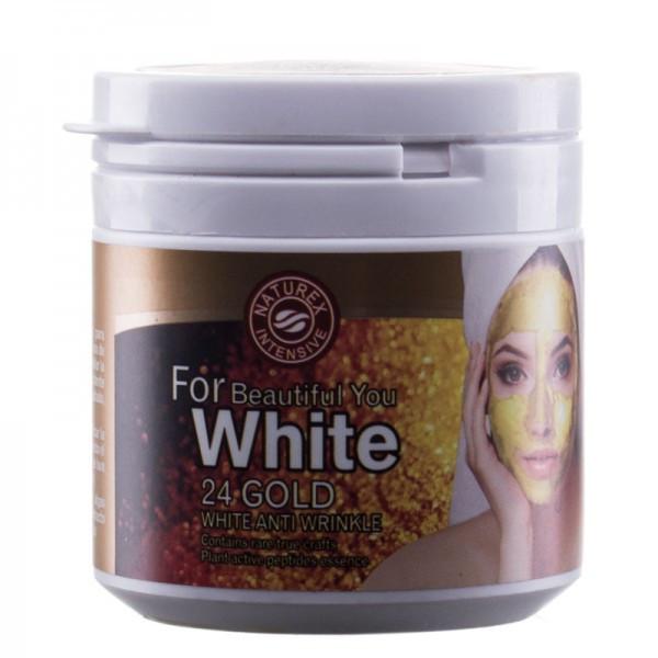 Маска против морщин Naturex Intensive MZ-002 24 Gold white