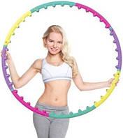 Масажний хулахуп для схуднення та корекції талії Massage Hoop 1108 діаметр 96 см, масажний обруч