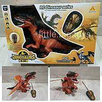 Животное динозавр на р/у 60102 динозавр, батар, свет, звук, р-р игрушки 48*36.5*19 см