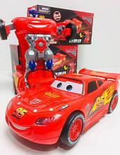 Машинка-трансформер на радіокеруванні McQueen 1819-10 (72 шт/ящ)