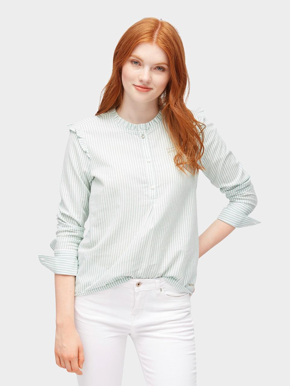 Блуза Tom Tailor 1004504 XS Зеленый