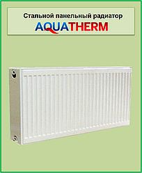 Стальной радиатор Aquaterm класс 22 300*1100 бок. подкл.