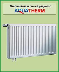 Сталевий радіатор Aquaterm клас 22 500*1100 нижнє зв'язок.
