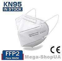 Респиратор KN95 / FFP2. Многоразовая маска для лица. Маска респиратор. Захисні маски респіратори D40W 1 штука