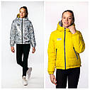 Двухсторонняя демисезонная куртка на девочку Адель бренда Nestta Размеры 146- 164, фото 9