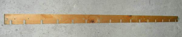 Лопасть мотовила деревянная 3518050-19008 ДОН-1500