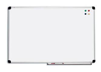 Доска магнитно-маркерная 120х90 см сухостираемая в алюминиевой рамке