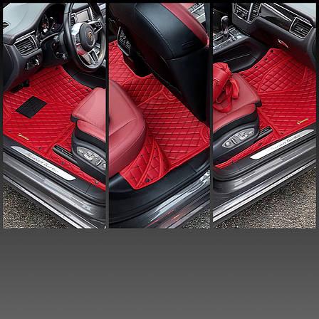 Комплект Килимків 3D Toyota Prado 150 + дод килимки ПВХ, фото 2